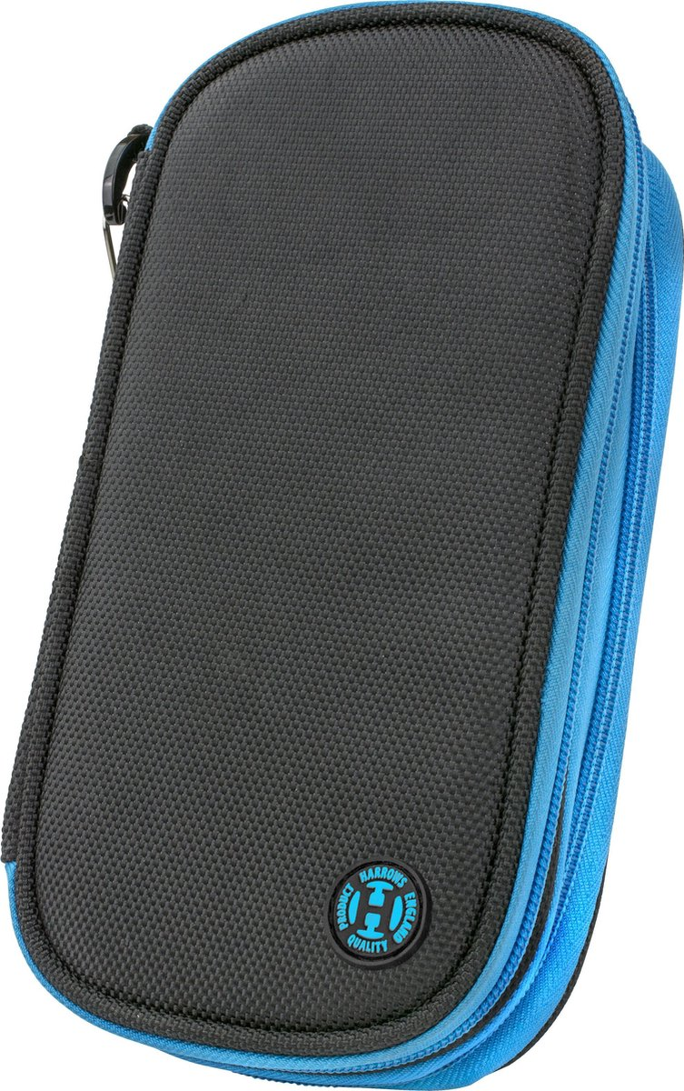 Harrows Dartetui Double Zipper Wallet - Blauw
