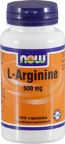Now L-Arginine 500 mg Capsules 100 st