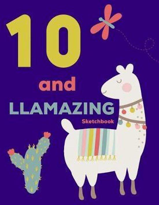 10 and Llamazing Sketchbook