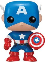 Funko Pop! Marvel Captain America - #06 Verzamelfiguur