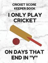 Cricket Score Keeper Book