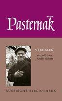 Boek cover Russische Bibliotheek  -   Verhalen van Boris Pasternak (Hardcover)