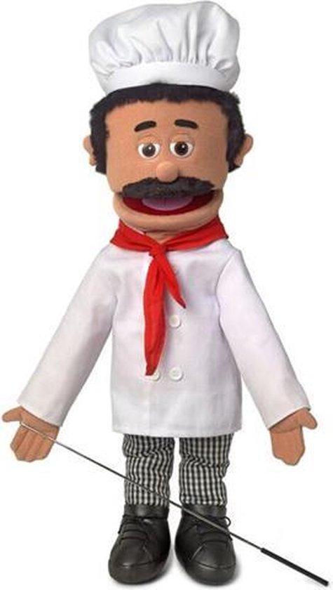 Handpop Chef Luigi Sillypuppets