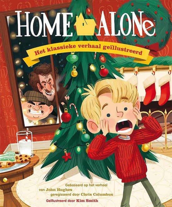 Boek cover Home alone van John Hughes (Hardcover)