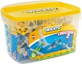 Twickto bouwset - constructie pakket - Creatie 2 - 145 delig - blauw, grijs en groen