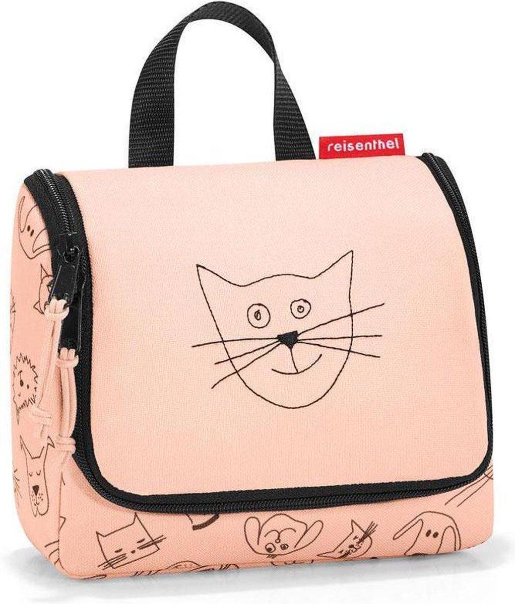 Reisenthel Toiletbag S Kids Toilettas 1.5L - Cats&Dogs Rose