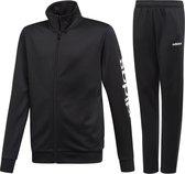 adidas Athletics  Trainingspak - Maat 164  - Unisex - zwart/wit