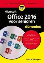 Voor Dummies  -   Microsoft Office 2016 voor senioren voor Dummies