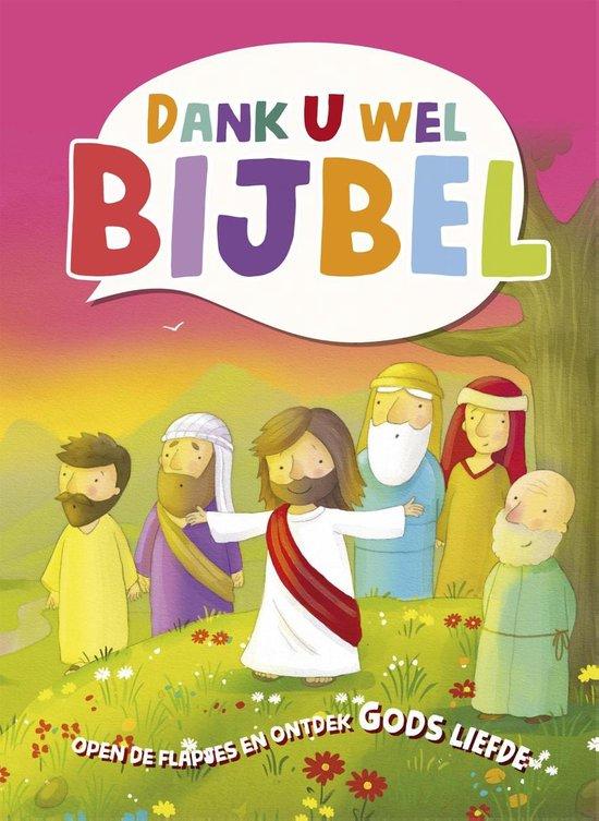 Boek cover Dank U wel Bijbel van Cecilie Fodor (Onbekend)