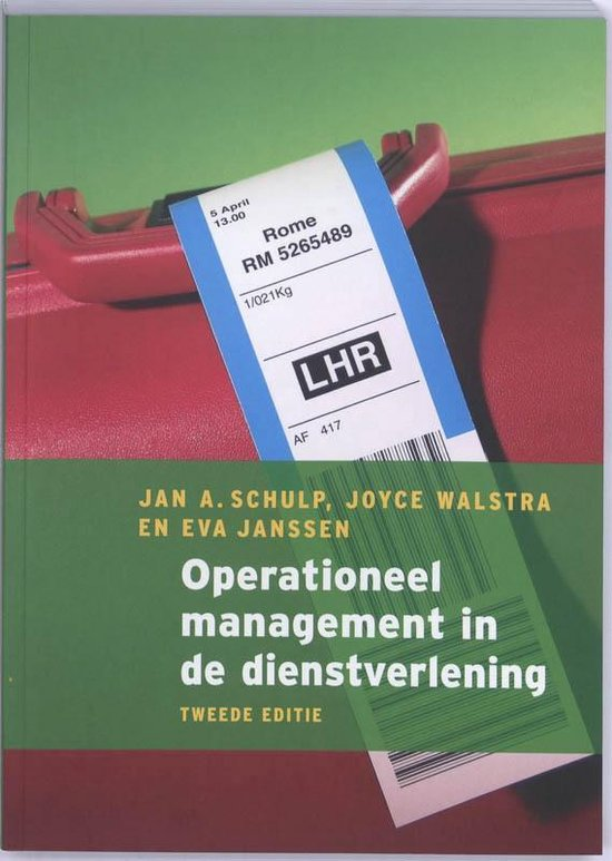 Operationeel management in de dienstverlening - Joyce Walstra pdf epub