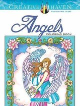 Creative Haven Angels Coloring Book