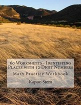 60 Worksheets - Identifying Places with 12 Digit Numbers