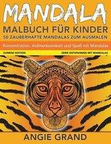 Mandala-Malbuch Fuer Kinder