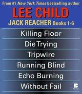 Omslag Lee Child's Jack Reacher Books 1-6