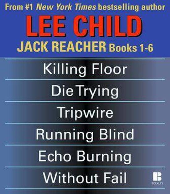 Omslag van Lee Child's Jack Reacher Books 1-6