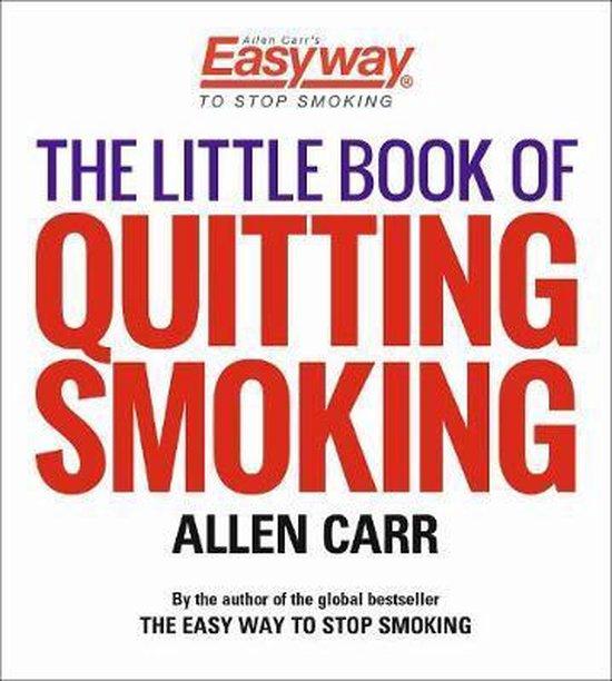 Boek cover The Little Book of Quitting van Allen Carr (Paperback)