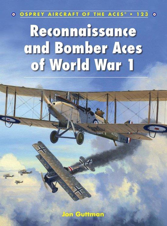 Boek cover Reconnaissance and Bomber Aces of World War 1 van Jon Guttman (Onbekend)