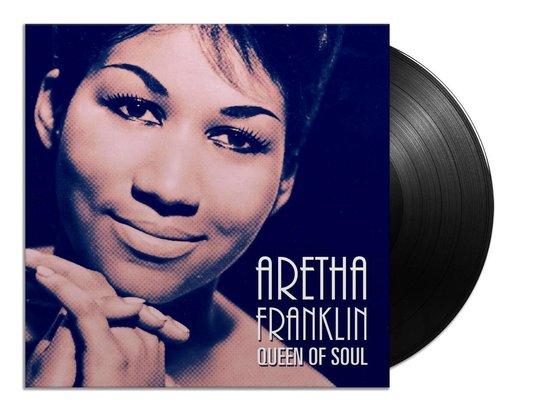 CD cover van Aretha Franklin - Queen of Soul (LP) van Aretha Franklin