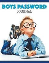 Boys Password Journal
