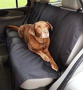 Zwarte Waterdichte Nylon Auto Achterbank Beschermhoes voor Huisdieren - 135x145cm | Hond | Kat | Hoes | Zwart | Bescherming van Autobank | Bank