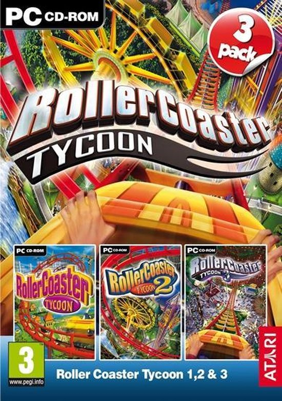 RollerCoaster Tycoon 1, 2 & 3 – PC