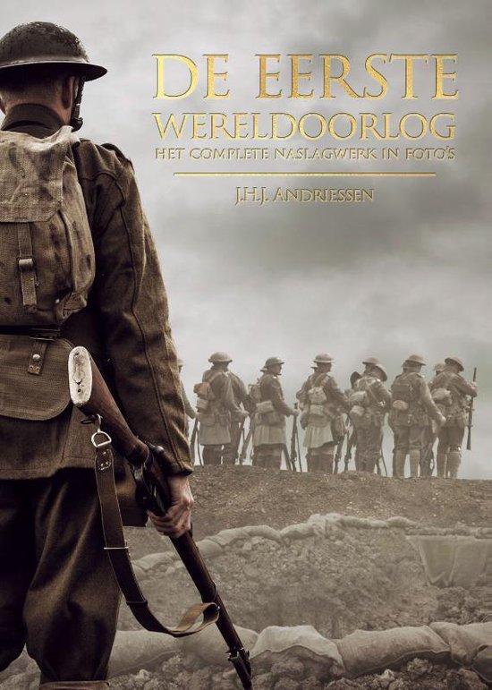 Boek cover De eerste wereldoorlog van J.H.J. Andriessen (Hardcover)