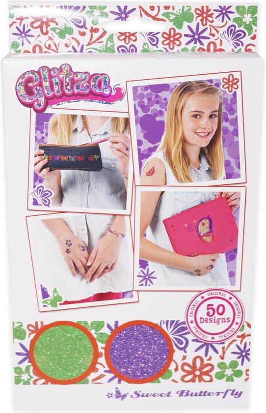 Glitza - Sweet Butterfly 50 Designs - Glitter Lichaamssieraden