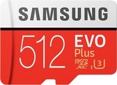 Samsung Evo Plus MicroSDXC 512GB - met adapter