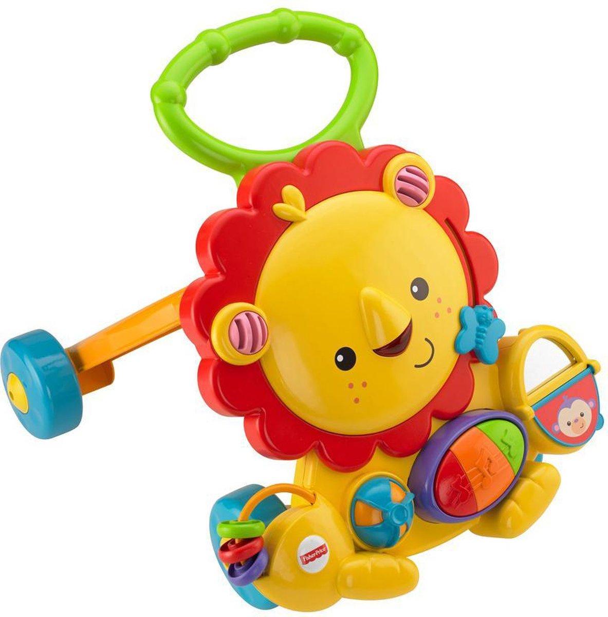 Fisher-Price Muzikale Leeuw Babywalker - Looptrainer