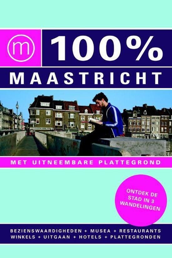 Cover van het boek '100% Maastricht' van J. Philippi