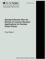 Standard Review Plan for Review of License Renewal Applications for Nuclear Power Plants
