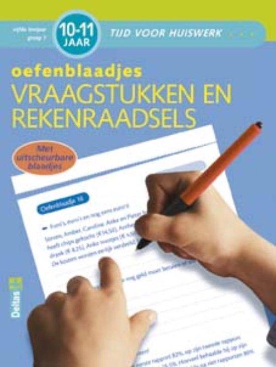 Tijd voor huiswerk - Oefenblaadjes vraagstukken (10-11 j.) - ZNU |