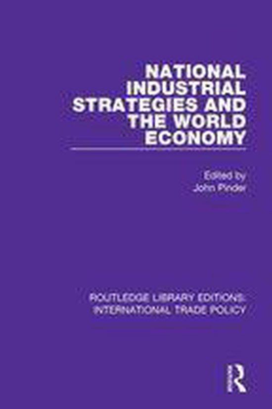 Boek cover National Industrial Strategies and the World Economy van  (Onbekend)