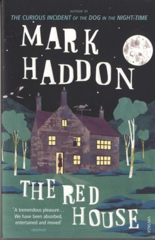 Boek cover The Red House van Mark Haddon (Paperback)