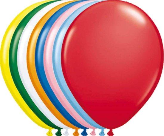 Ballonnen - Diverse kleuren - 23cm - 50st.