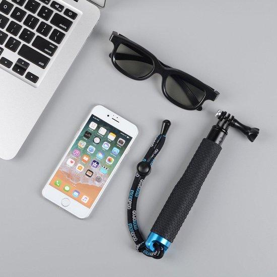 Kwalitatieve GoPro Selfiestick XL - 95cm - Waterproof - Gratis Draaisleutel & Anti Vochtdoekjes