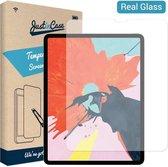 iPad Pro 2020 screenprotector - iPad Pro 2021 screenprotector - 12.9 inch - Gehard glas - Transparant - Just in Case