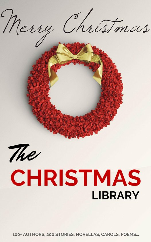 Boek cover The Christmas Library van A.A. Milne (Onbekend)