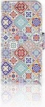 Samsung Galaxy A3 2017 Uniek Bookcase Hoesje Tiles Color