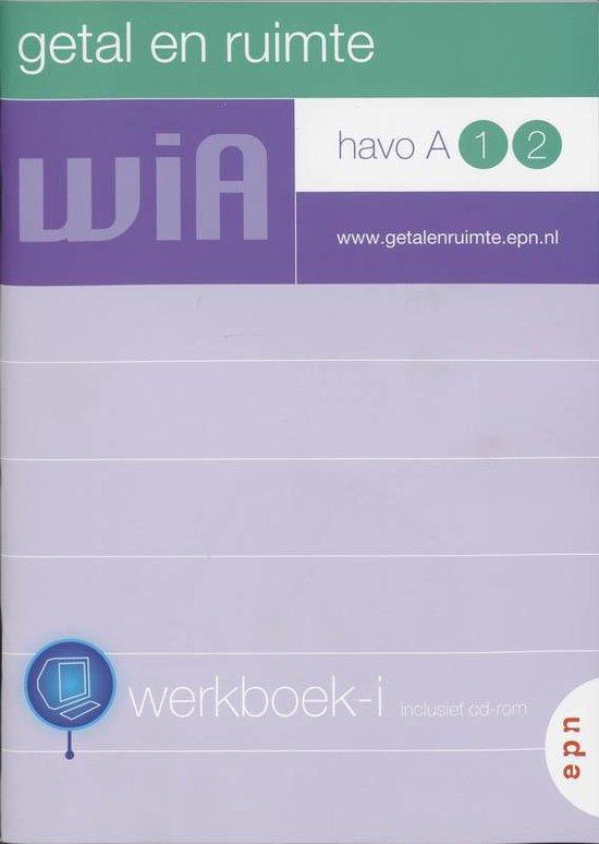 Getal en ruimte / Havo A 1 2 / deel Werkboek-i + CD-ROM - L.A. Reichard |