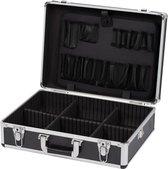 Kreator KRT640102B Gereedschapskoffer - 460 x 330 x 155 mm - zwart - (geleverd zonder gereedschap)