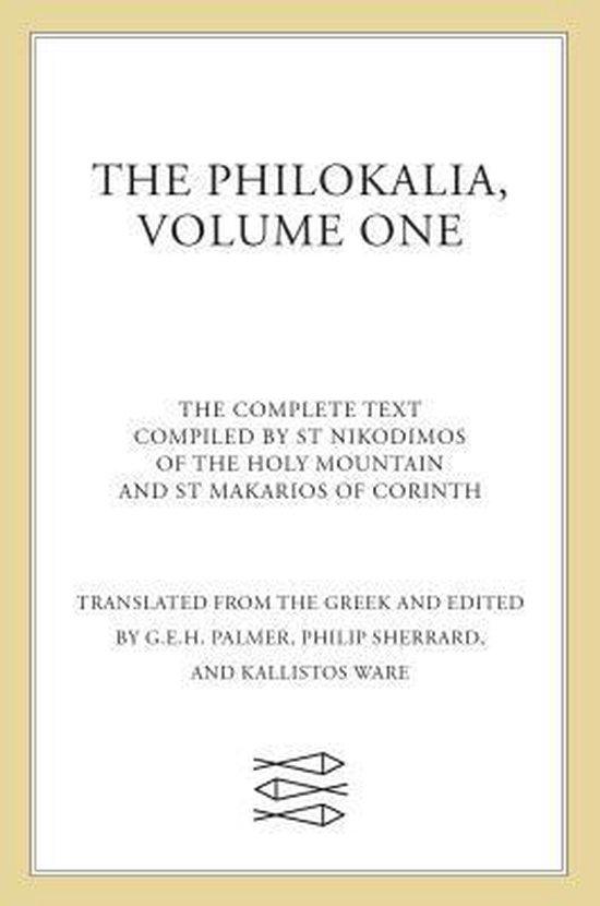 Afbeelding van The Philokalia Vol 1