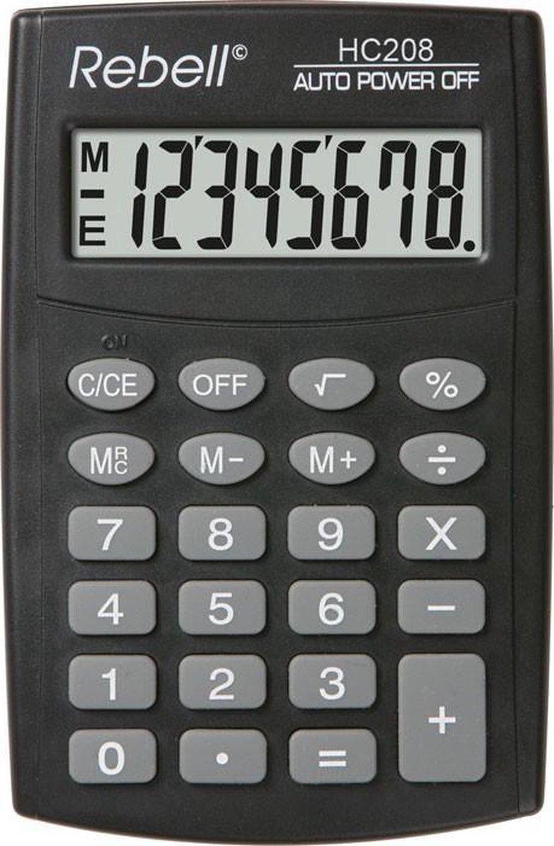 Rebell HC208 - Bureaurekenmachine