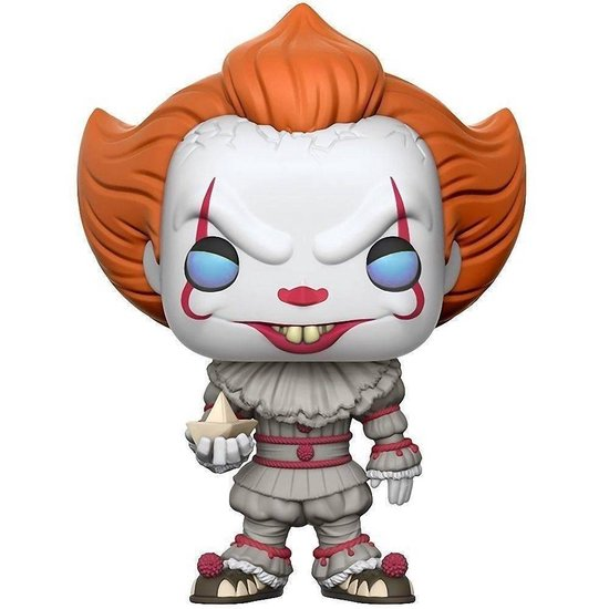 Funko Pop! IT Pennywise (With Boat) #472 - Verzamelfiguur