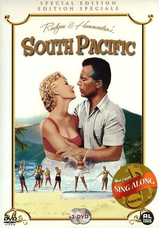 Cover van de film 'South Pacific'