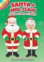 Santa & Mrs. Claus Sticker Paper Dolls