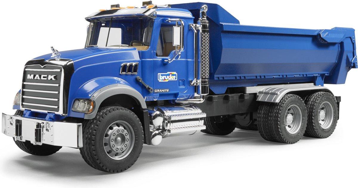 2823 - Véhicule Miniature - Camion Benne Mack Granite Halfpipe