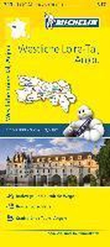 Michelin Westliches Loiretal - Anjou