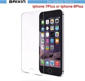 iPhone Glazen screenprotector  iphone 8 Plus of 7 Plus - Tempered glass  - Gehard glas