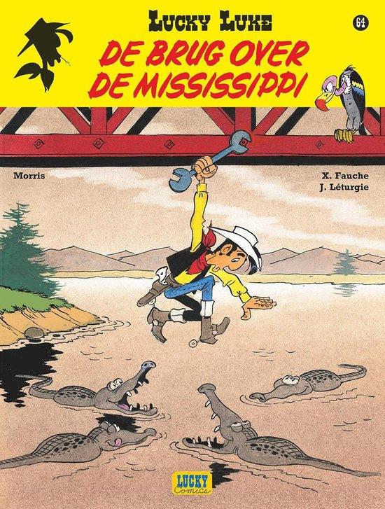 Lucky Luke 64. De brug over de Mississippi - Morris |